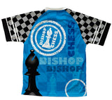 Chess Bishop Technical T-Shirt for Men and Women
