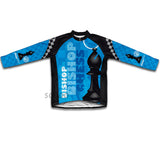 Chess Bishop Winter Thermal Cycling Jersey