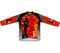 Chess King Winter Thermal Cycling Jersey