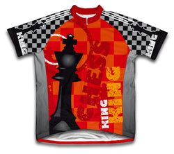 King Short Sleeve Cycling Jersey for Men and Women