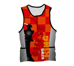 Chess King Triathlon Top