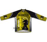 Chess Knight Short Sleeve Cycling Jersey for Men and Women