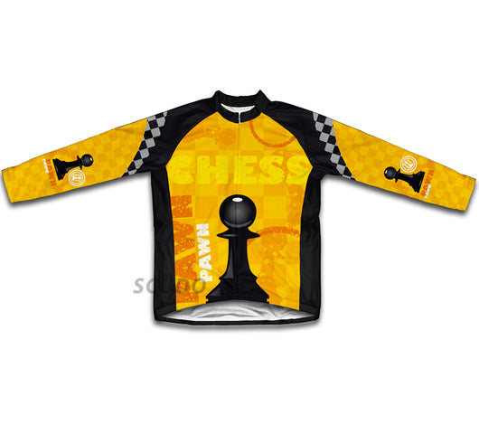 Chess Pawn Winter Thermal Cycling Jersey