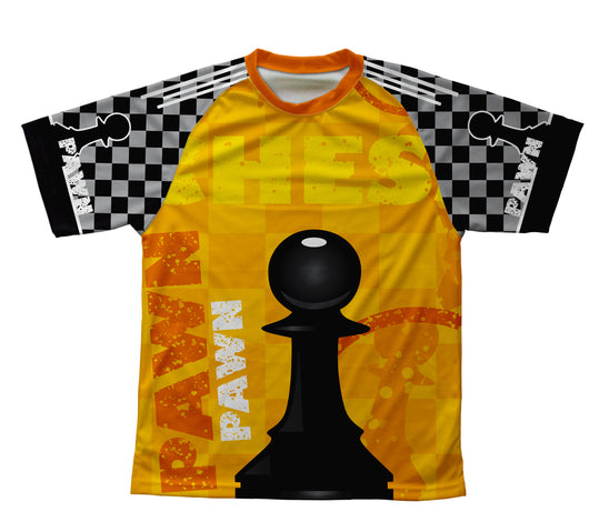 Chess Pawn Technical T-Shirt for Men and Women