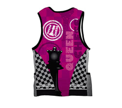 Chess Queen Triathlon Top