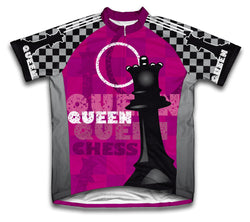Queen Short Sleeve Cycling Jersey for Men and Women