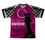 Chess Queen Technical T-Shirt for Men and Women