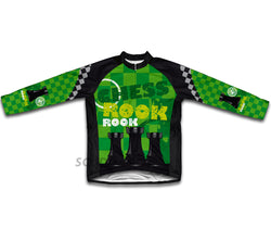 Chess Rook Winter Thermal Cycling Jersey