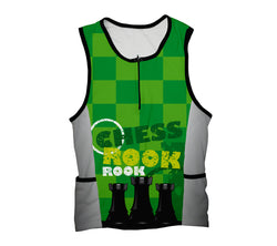 Chess Rook Triathlon Top