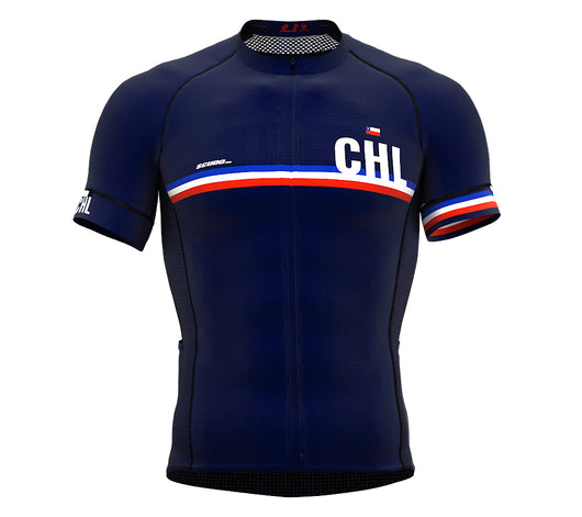 Chile Blue CODE Short Sleeve Cycling PRO Jersey for Men and WomenChile Blue CODE Short Sleeve Cycling PRO Jersey for Men and Women