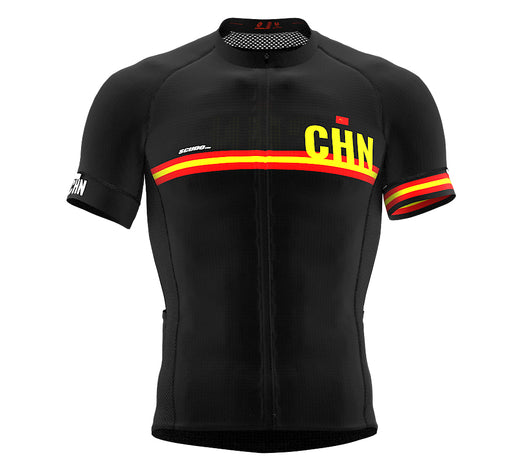 China Black CODE Short Sleeve Cycling PRO Jersey for Men and WomenChina Black CODE Short Sleeve Cycling PRO Jersey for Men and Women