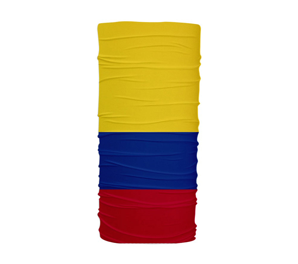 Colombia Flag Multifunctional UV Protection Headband
