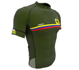 Colombia Green CODE Short Sleeve Cycling PRO Jersey for Men and Women