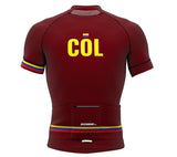 Colombia Vine CODE Short Sleeve Cycling PRO Jersey for Men and Women