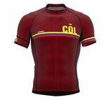 Colombia Vine CODE Short Sleeve Cycling PRO Jersey for Men and WomenColombia Vine CODE Short Sleeve Cycling PRO Jersey for Men and Women