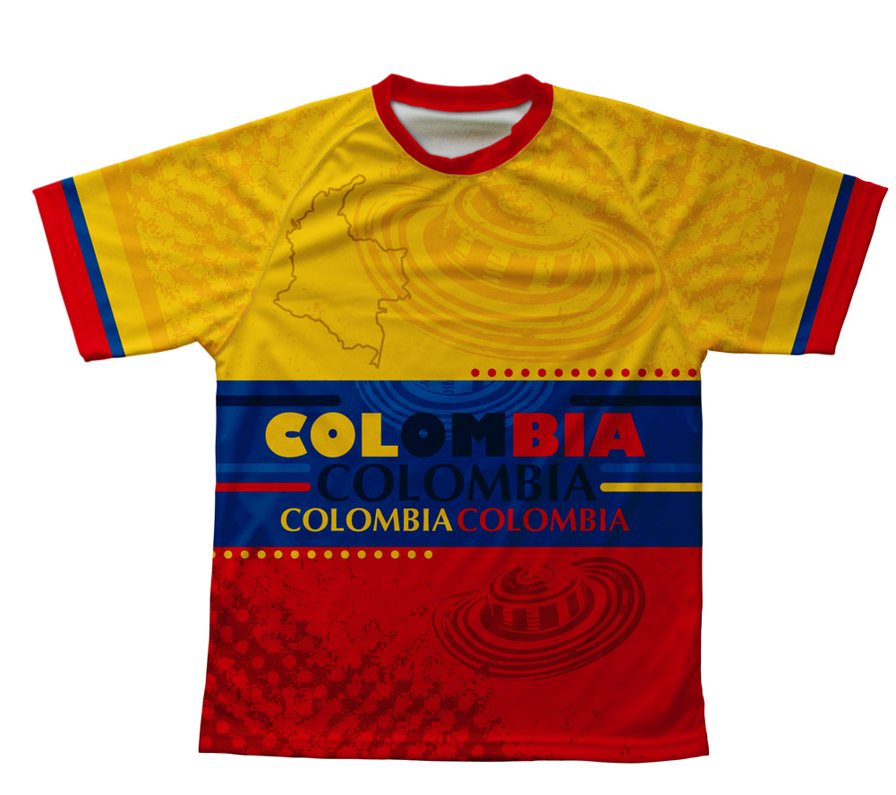 Colombia Technical T-Shirt for Men and Women