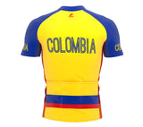Colombia  Full Zipper Bike Short Sleeve Cycling Jersey