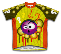 Confused Critter Short Sleeve Cycling Jersey for Men and Women