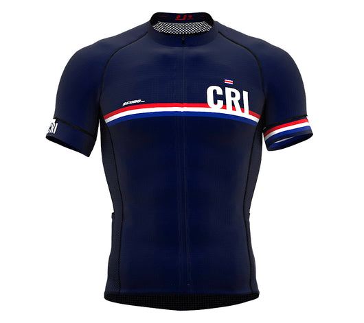 Costa Rica Blue CODE Short Sleeve Cycling PRO Jersey for Men and WomenCosta Rica Blue CODE Short Sleeve Cycling PRO Jersey for Men and Women