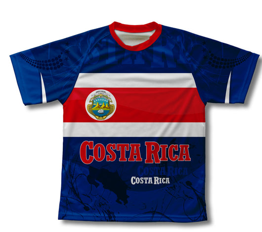 Costa Rica Technical T-Shirt for Men and Women
