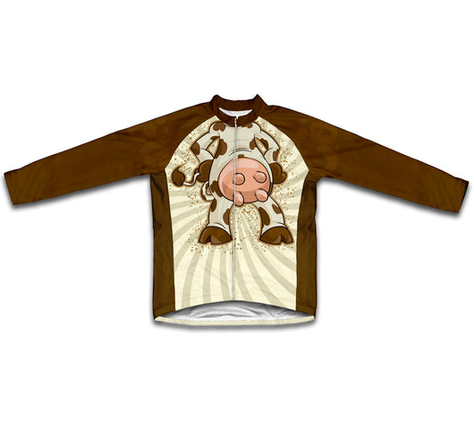 Cow Winter Thermal Cycling Jersey