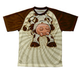 Cow Technical T-Shirt for Men and Women