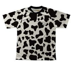 Cow Skin Technical T-Shirt for Men and Women