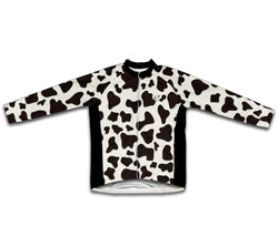 Cow Skin Winter Thermal Cycling Jersey