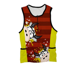 Cowlicious Triathlon Top