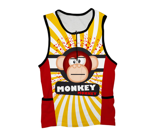 Crazy Banana Monkey Triathlon Top