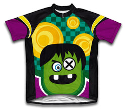 Crazy Eye Short Sleeve Cycling Jersey for Men and Women
