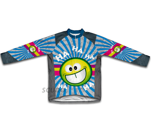 Crazy Laughter Winter Thermal Cycling Jersey