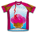 Creamy Delight Short Sleeve Cycling Jersey for Men and Women