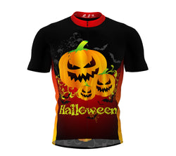 Creepy  Pumkins Cycling Jersey Short Sleeve for Men and Women