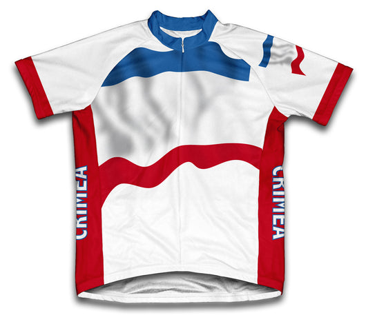 Crimea Flag Cycling Jersey for Men and Women