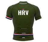 Croatia Green CODE Short Sleeve Cycling PRO Jersey for Men and Women