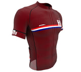 Croatia Vine CODE Short Sleeve Cycling PRO Jersey for Men and Women
