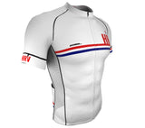 Croatia White CODE Short Sleeve Cycling PRO Jersey for Men and Women