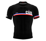 Cuba Black CODE Short Sleeve Cycling PRO Jersey for Men and WomenCuba Black CODE Short Sleeve Cycling PRO Jersey for Men and Women