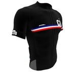 Cuba Black CODE Short Sleeve Cycling PRO Jersey for Men and Women