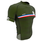 Cuba Green CODE Short Sleeve Cycling PRO Jersey for Men and Women