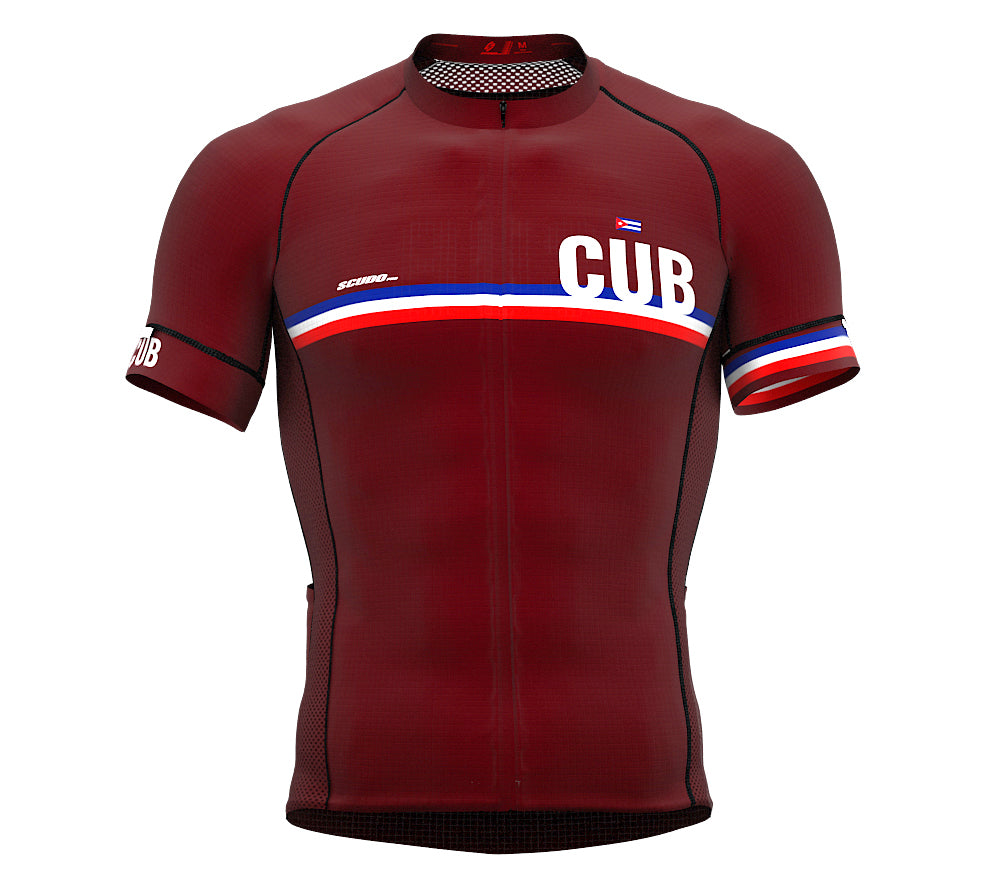 Cuba Vine CODE Short Sleeve Cycling PRO Jersey for Men and WomenCuba Vine CODE Short Sleeve Cycling PRO Jersey for Men and Women