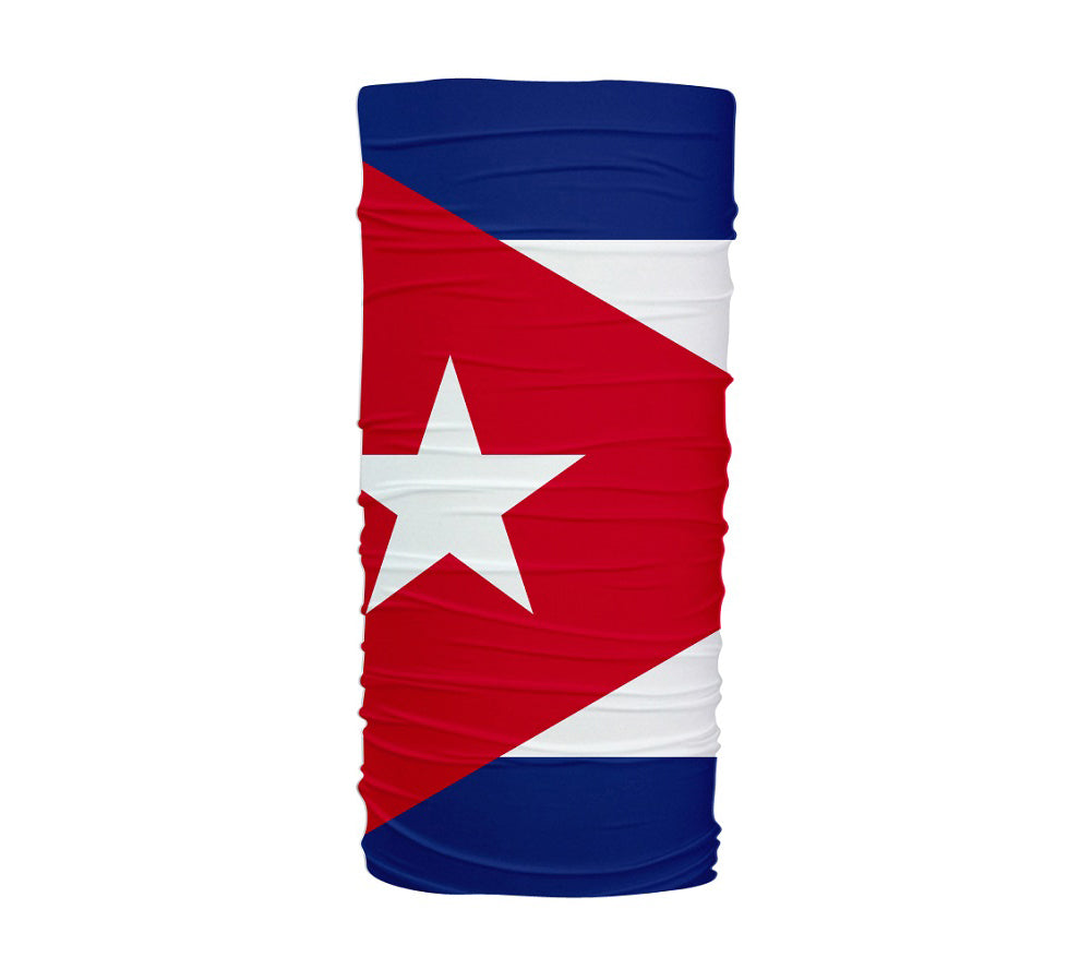 Cuba Flag Multifunctional UV Protection Headband