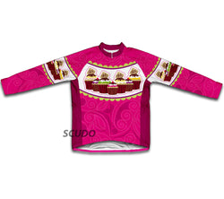Cupcake Winter Thermal Cycling Jersey