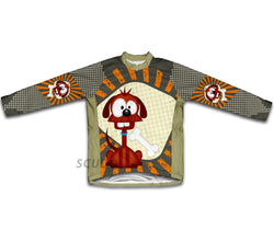 Curious Canine Winter Thermal Cycling Jersey