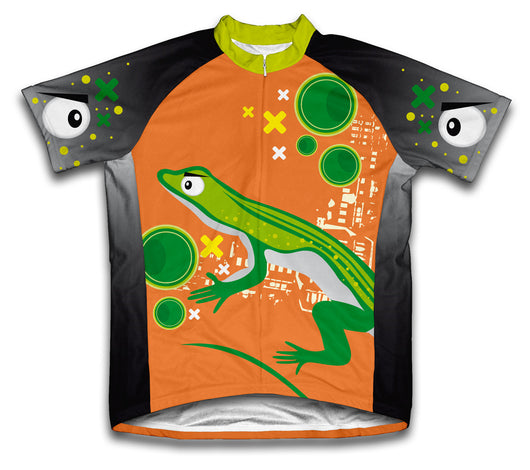 Curious Eyed Lizard Short Sleeve Cycling Jersey for Men and Women