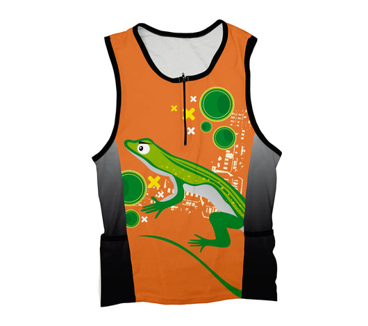 Curious Eyed Lizard Triathlon Top