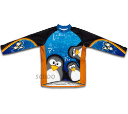 Curious Penguins Winter Thermal Cycling Jersey