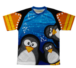 Curious Penguins Technical T-Shirt for Men and Women
