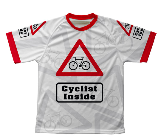 Cyclist Inside Technical T-Shirt for Men and Women